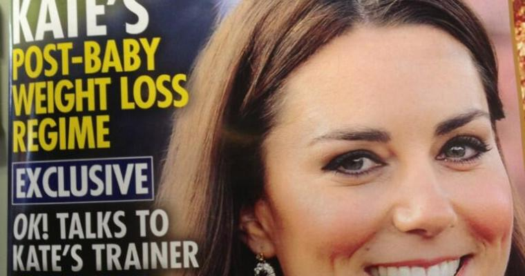 Hey, OK Magazine? Go F**k Yourself; and Other Thoughts on Baby Weight