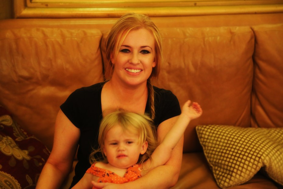Cassie and daughter