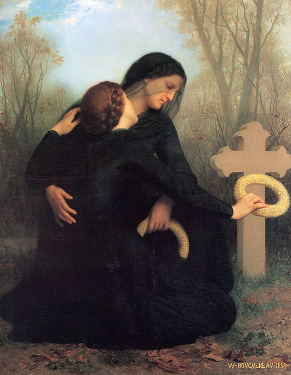 "Adolphe Bouguereau's ""The Day of the Dead"""