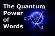 Quantum Power of Words
