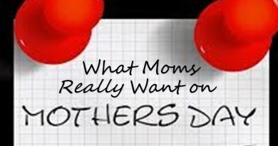 The 5 Things Moms Really Want For Mother's day
