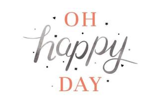 Logo Design & Branding for Oh Happy Day