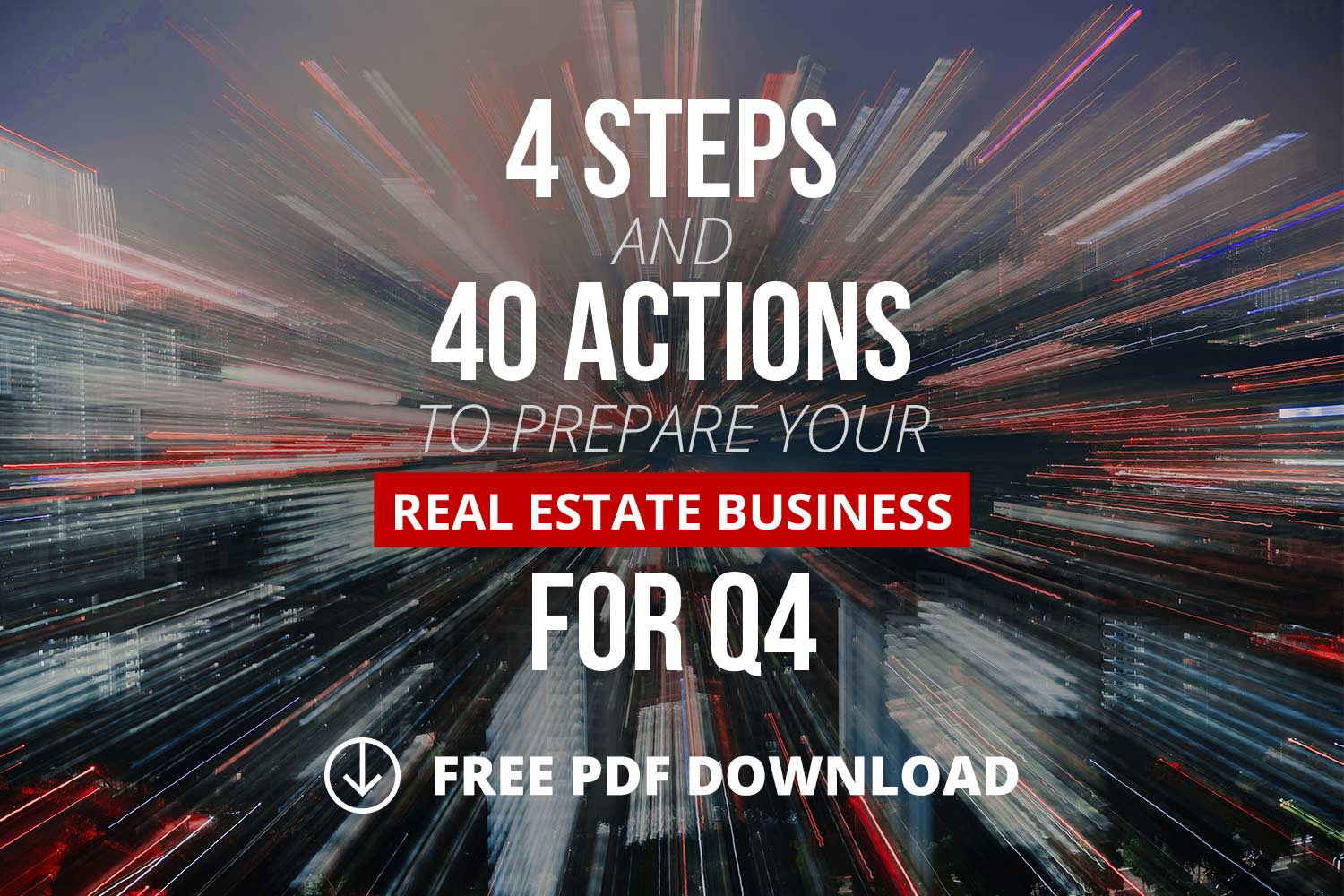 4 Steps And 40 Actions For Q4