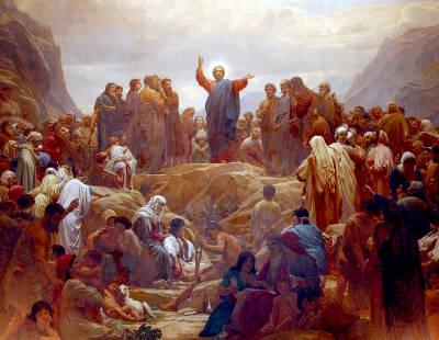Resultat d'imatges de sermon de la montaña