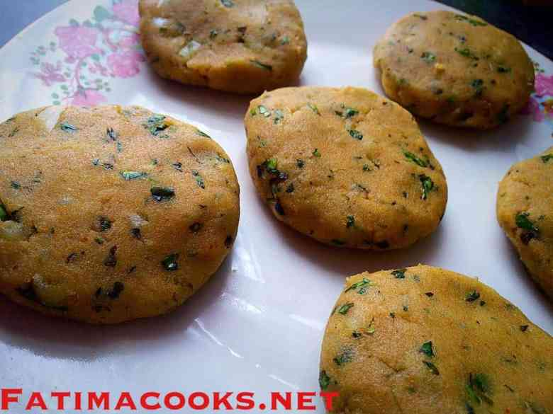 Aalo ki Tikkiyan - Spicy Potato Cutlets - flavour bombs!