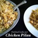 Pakistani Chicken Pilau