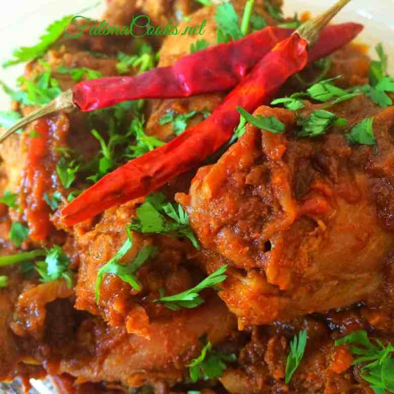 Bhuna Chicken Curry - Recipe @ fatimacooks.net
