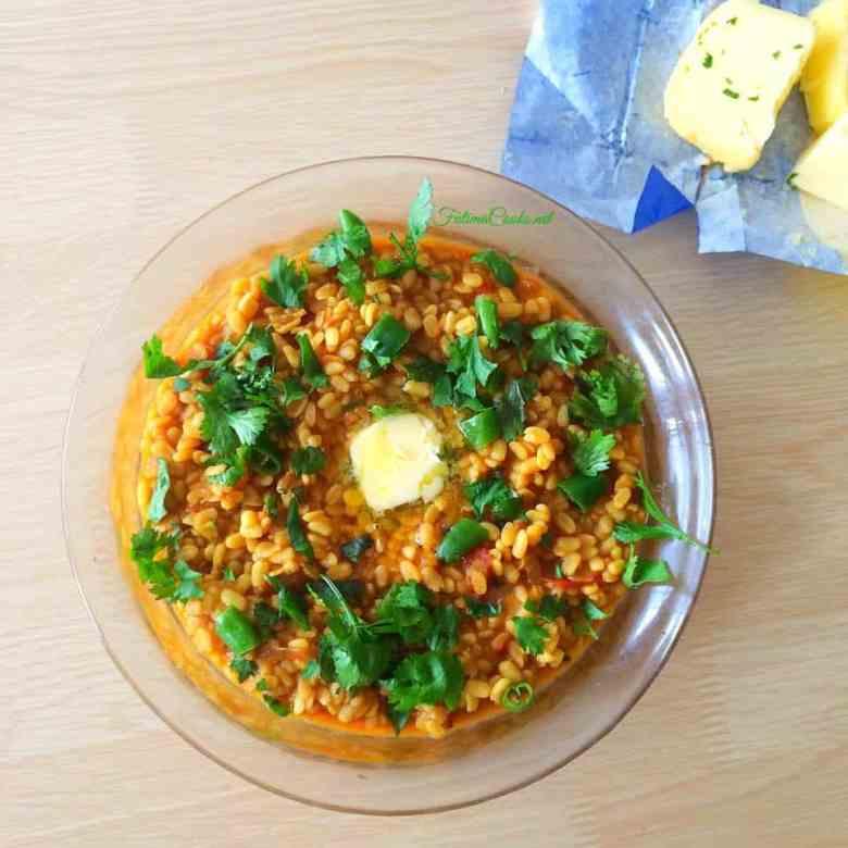 Urdu Recipe for Bhuni Mash Daal - Pakistani Urid Lentils