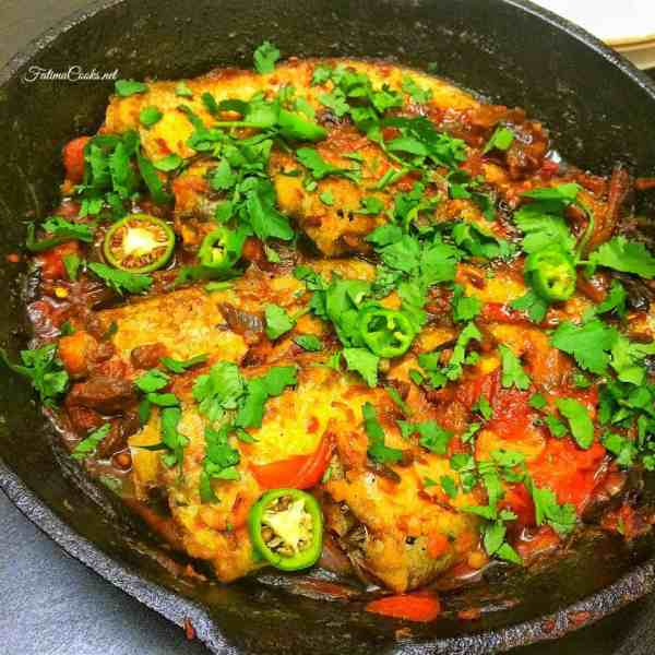 Pabda Fish Bhuna - Recipe by Fatima Cooks