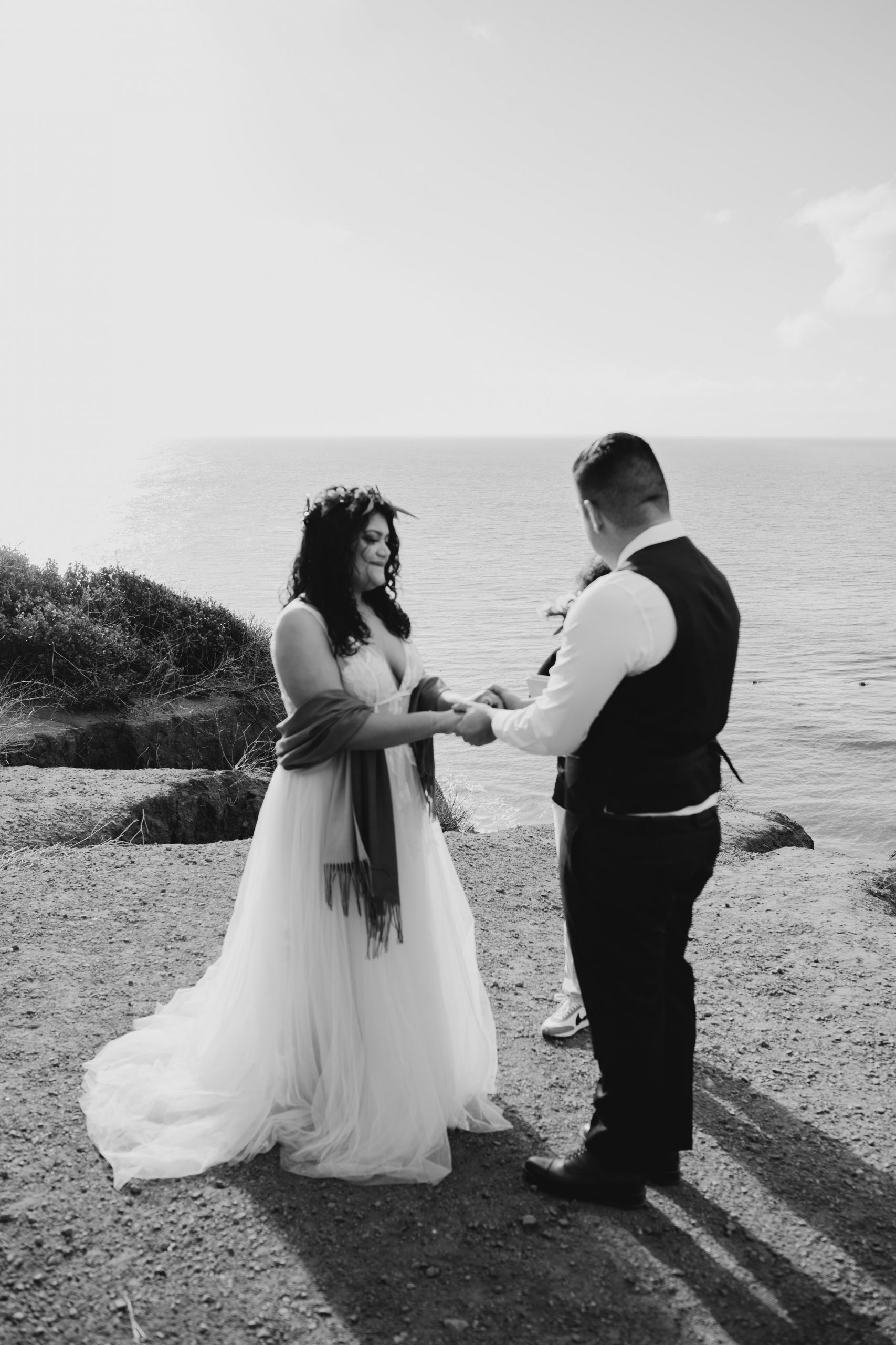 El Matador Beach Elopement in Malibu, image by Fatima Elreda Photo
