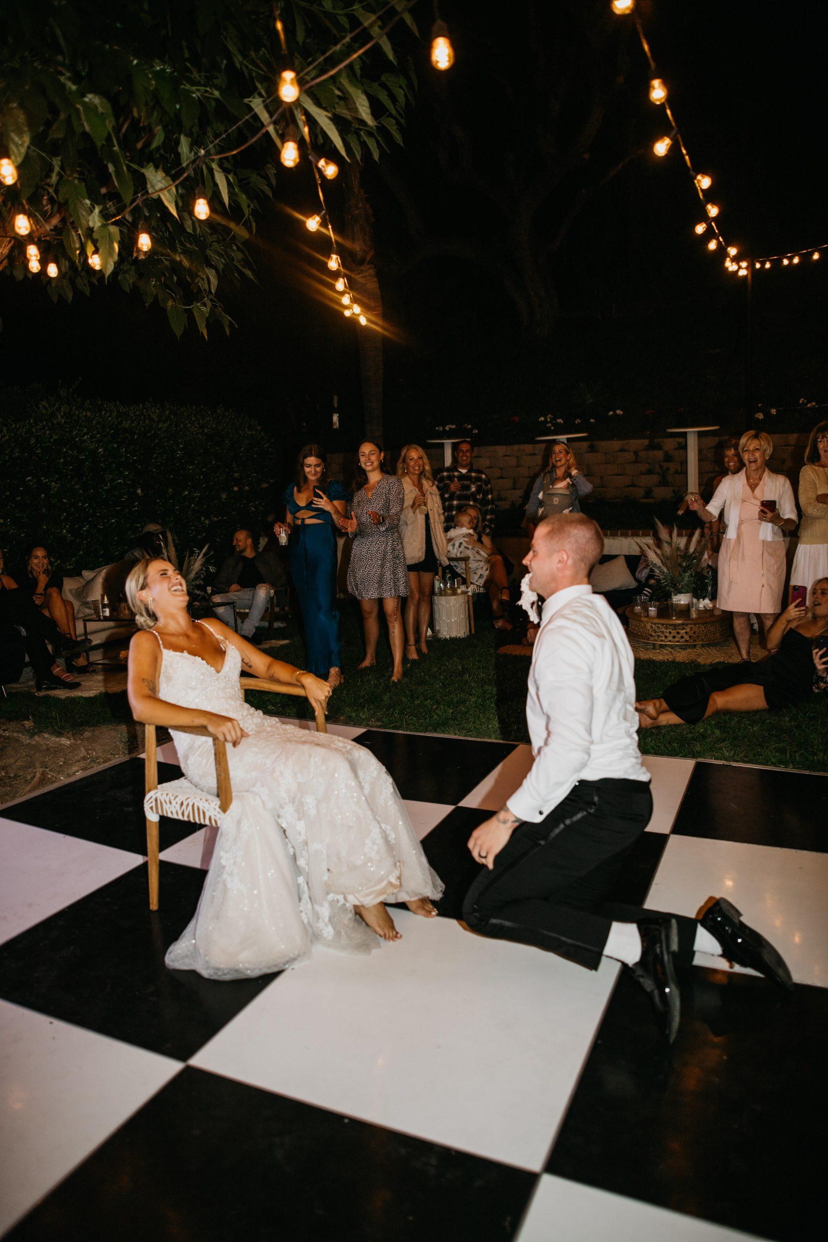 Laguna Beach Backyard Wedding, image by Fatima Elreda Photo