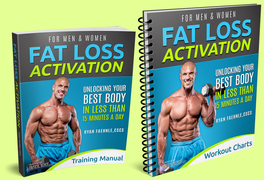 Fat Loss Activation Training Manual & Workout Charts
