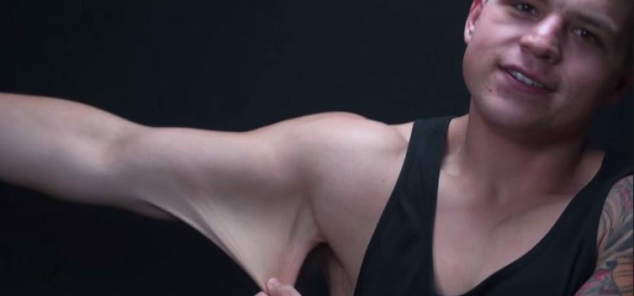 7042fffe74e25 O homem elástico: veja quanta pele esse cara consegue esticar em seu  próprio corpo!