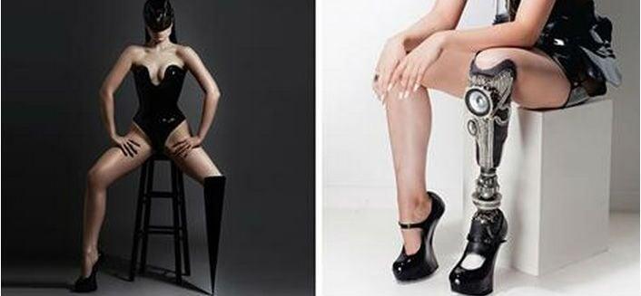 Primeira cantora pop amputada do mundo mostra prótese em clipe