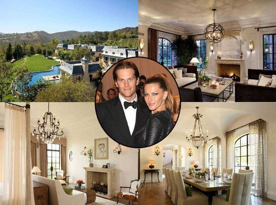 Conheça as 4 mansões em que Gisele Bündchen e Tom Brady já viveram