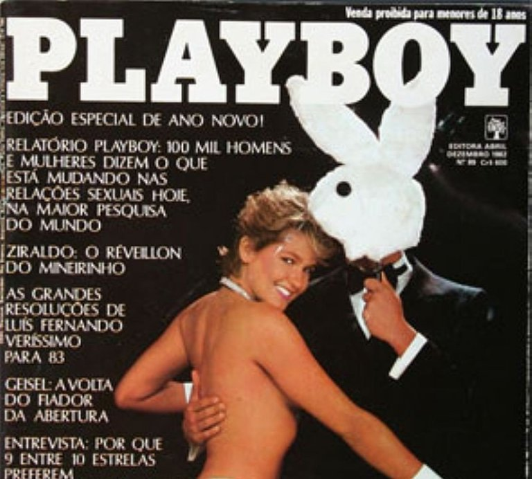 12 famosas que foram capa da Playboy e que você NÃO SABIA ou não se recordava