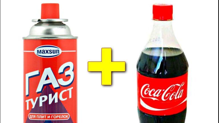 Veja o que acontece quando misturamos Coca-Cola e Gás Propano