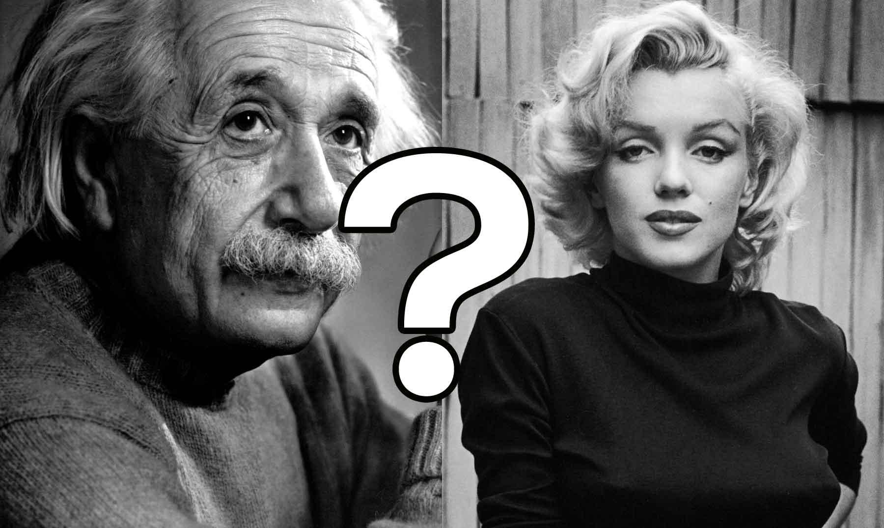 Einstein ou Marilyn Monroe? Ilusão de ótica pode descobrir se você precisa de óculos
