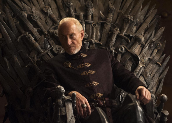 Tywin Lannister, played by Charles Dance