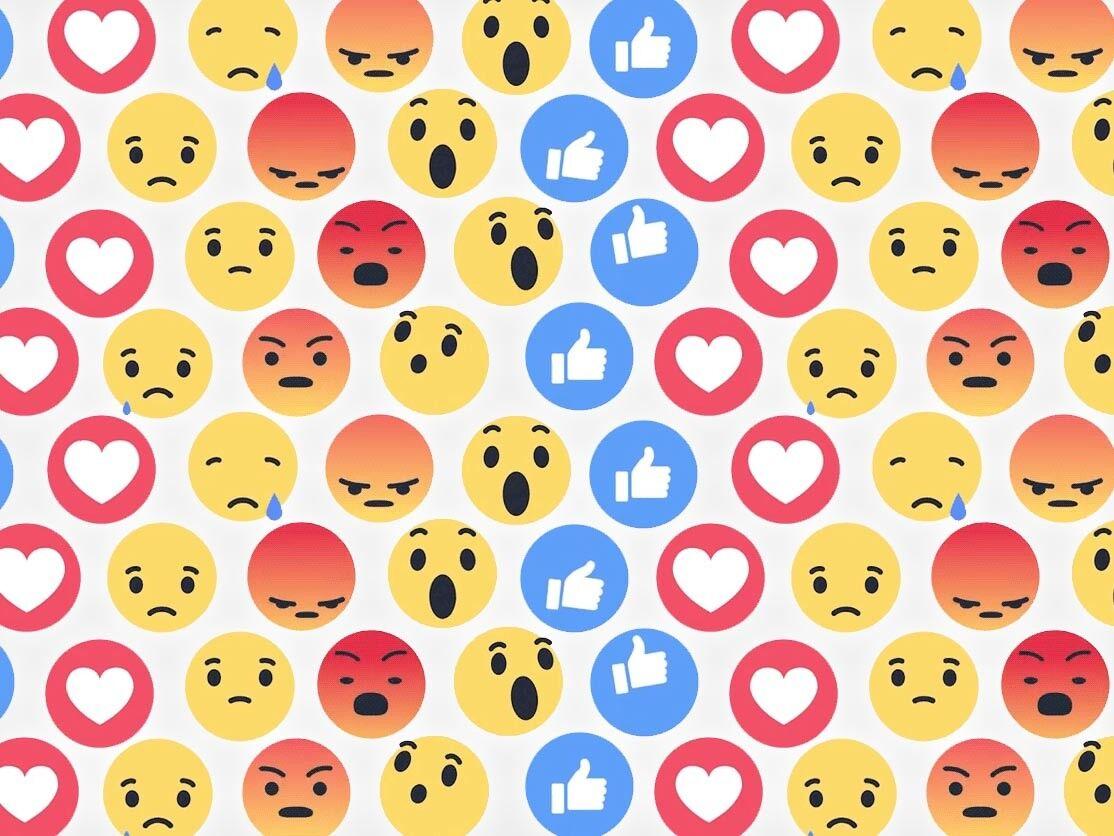 Facebook lança novos botões para interagir na rede social