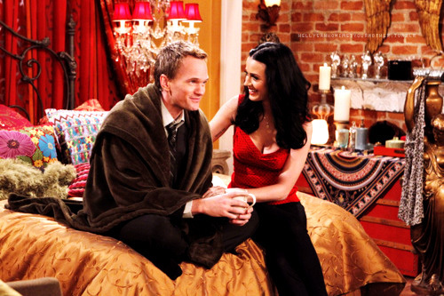 """""""Oh Honey"""" -- Barney (Neil Patrick Harris) gets emotional when he opens up to Honey (Katy Perry) about his life, on HOW I MET YOUR MOTHER, Monday, Feb. 7 (8:00-8:30 PM, ET/PT) on the CBS Television Network. Photo: Sonja Flemming/CBS. ©2011 CBS BROADCASTING INC. All Rights Reserved."""