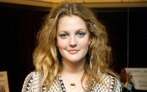 DREW BARRYMORE...Actress Drew Barrymore poses backstage at the Hollywood Awards Gala Ceremony, Monday, Oct. 20, 2003, in Beverly Hills, Calif.  (AP Photo/Chris Weeks)