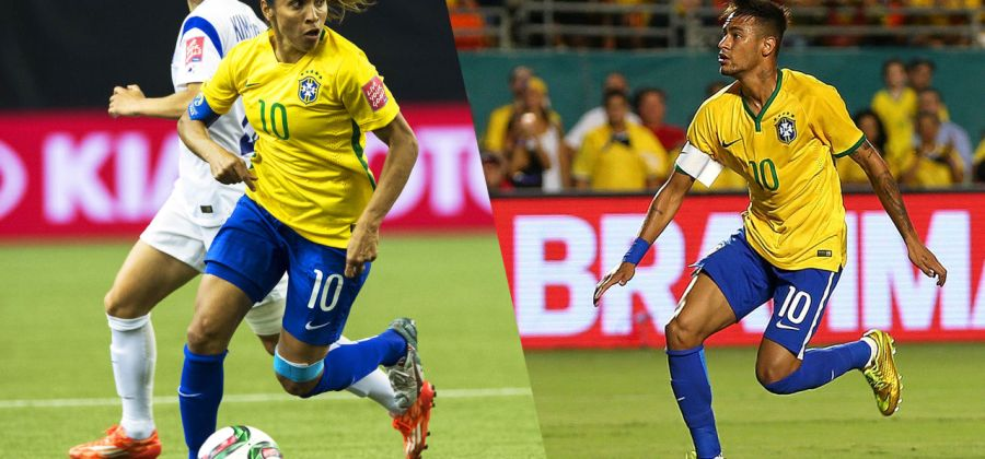 4d7597aa21564 8 provas que a Seleção Brasileira feminina de futebol dá uma goleada na  masculina