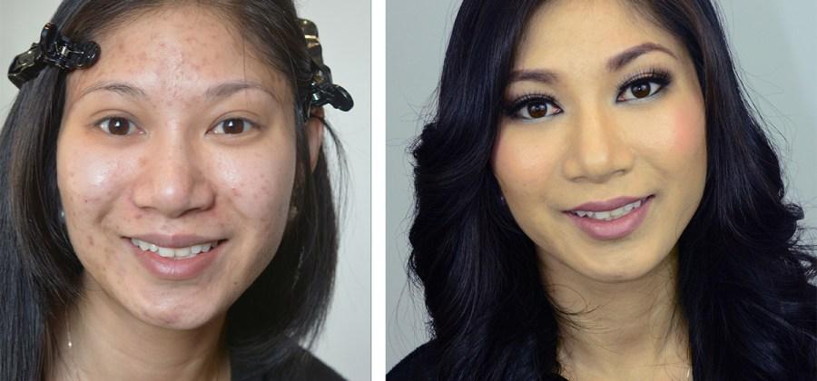 Favoritos 13 imagens que mostram mulheres o antes e depois da maquiagem EI43