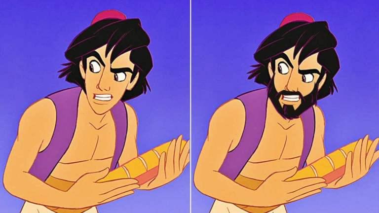 10 imagens que provam que a barba pode transformar os príncipes da Disney em homens de verdade