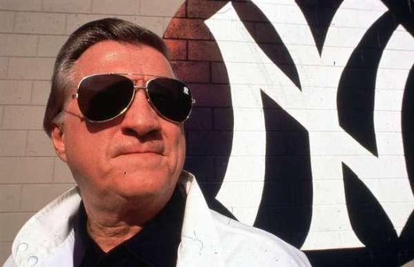 Mfjor League Baseball: New York Yankees owner George Steinbrenner. Credit: Lane Stewart SetNumber: X39735