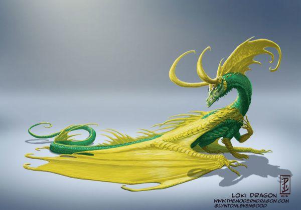 I-Re-Imagined-Popular-Comic-Characters-as-Dragons-571f3cca5f287__880
