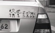 18 adesivos de carro que mostram o quanto o brasileiro é o pai da genialidade