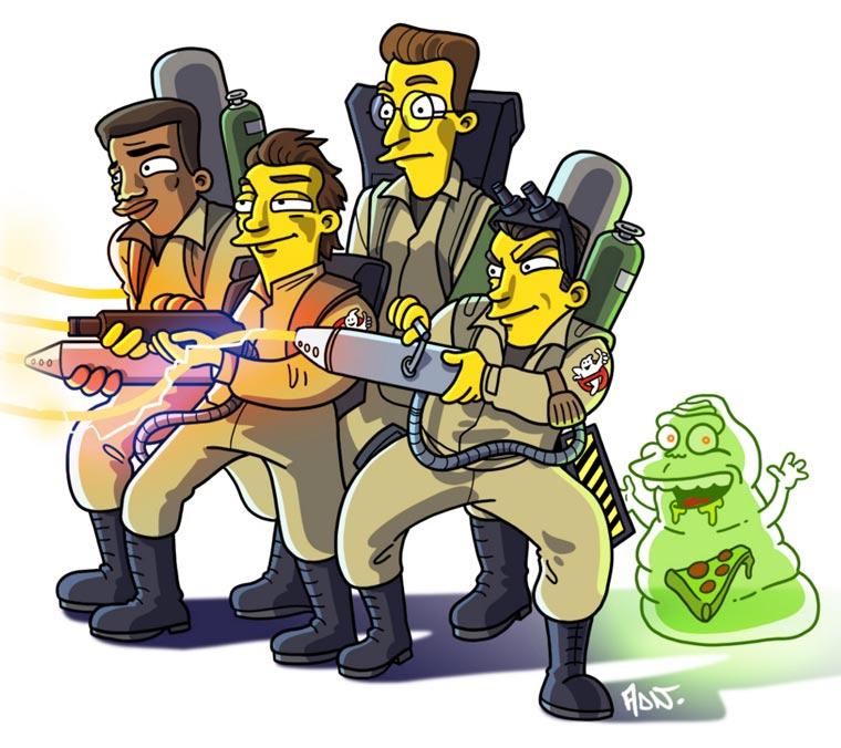 Simpsonized Pop Culture By ADN 5, Fatos Desconhecidos