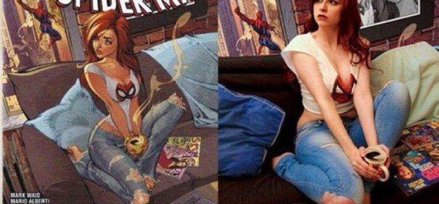 15 cosplays da Mary Jane que recriam capa clássica dos quadrinhos dcb1daa2facf