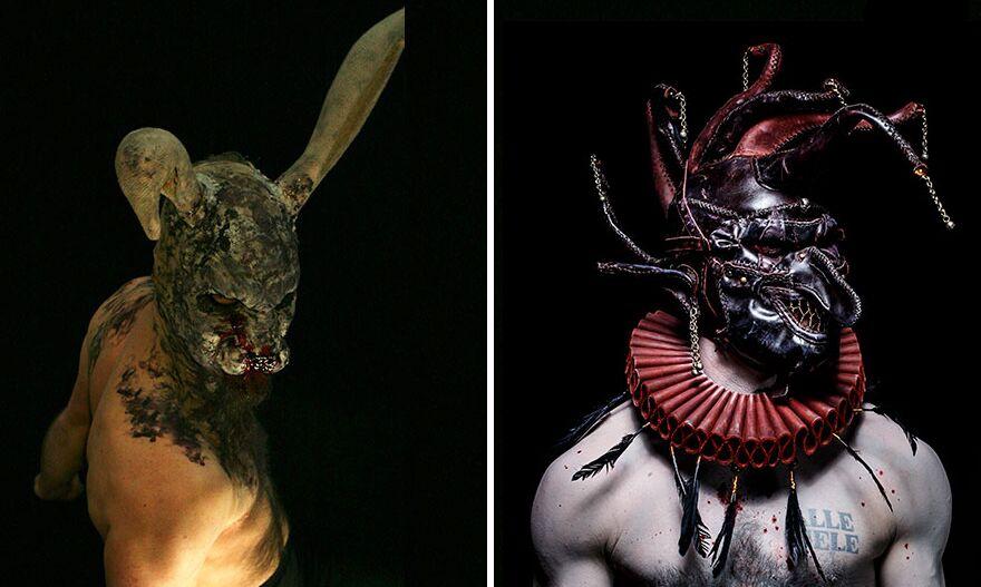 10 máscaras tão surreais que são verdadeiros pesadelos