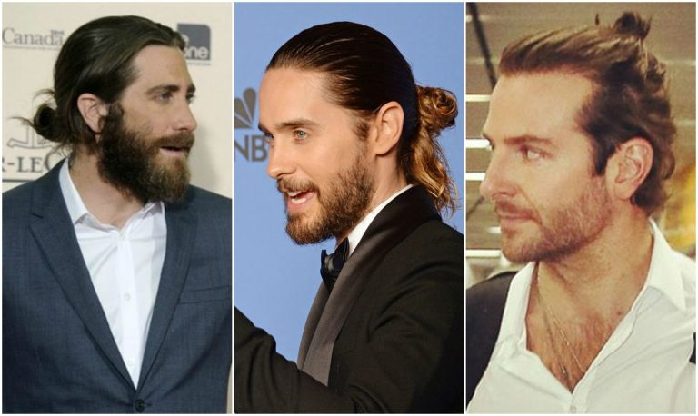5 imagens que mostram porque alguns homens usam coque