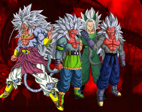 Dragon Ball Af Super Saiyan 5 Broly Goku Vegeta Xicor, Fatos Desconhecidos
