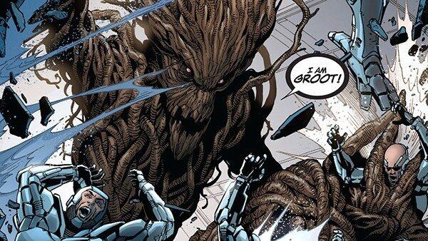 5 momentos que provam o passado cruel e obscuro do Groot