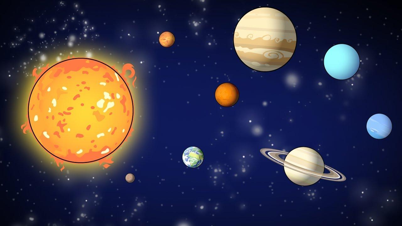 Sistema Solar System Planets Diagram Stock Vector Image 49592184 Quantos Dias Tem Um Ano De Cada Planeta Do