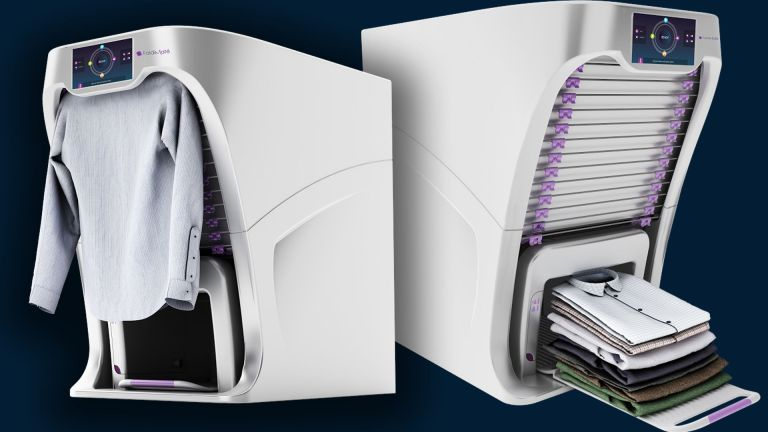 Uma máquina de lavar que é o sonho de qualquer pessoa