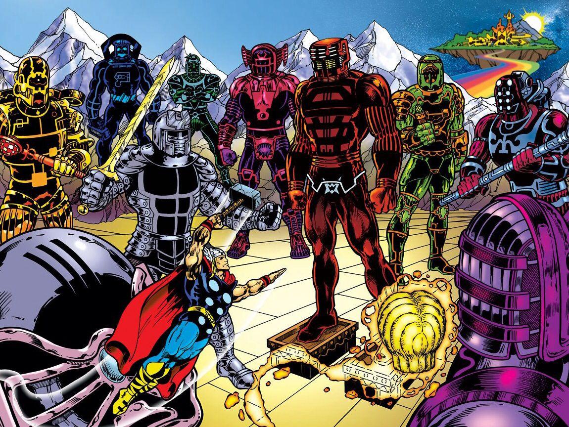 Celestiais - Marvel Comics