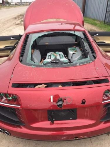 Audi Destruido 375x500, Fatos Desconhecidos