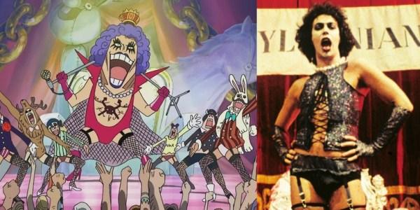 One Piece Pop Culture References Ivankov Rocky Horror Picture Show 600x300, Fatos Desconhecidos