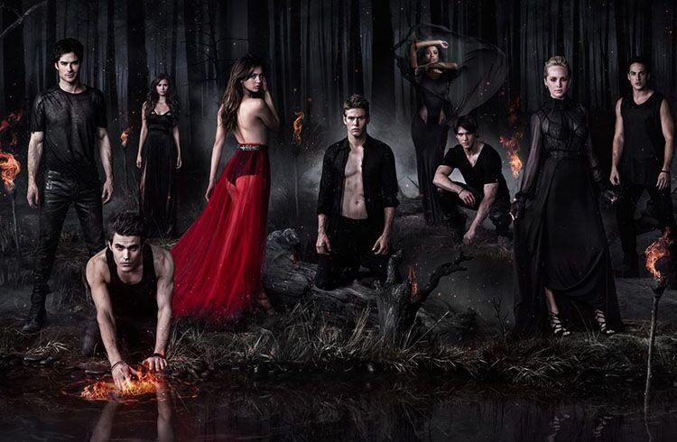 Netflix anuncia que a 8º temporada de The Vampire Diaries chegará em breve na plataforma
