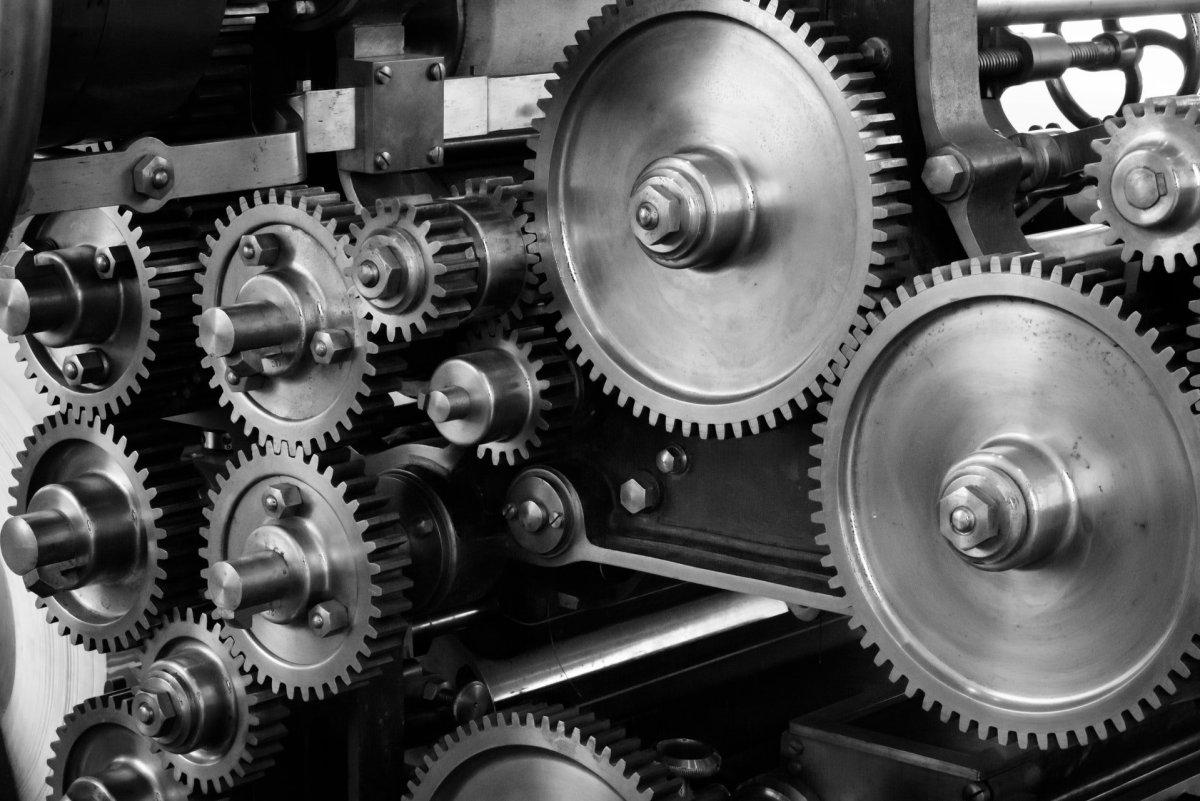 Gears Cogs Machine Machinery 159298, Fatos Desconhecidos