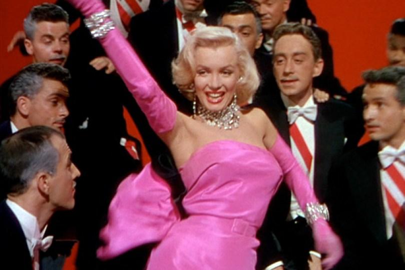 Gentlemen Prefer Blondes Marilyn Monroe 02, Fatos Desconhecidos