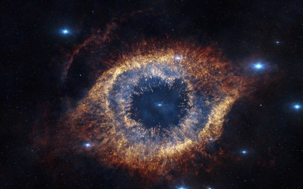 Xlarge IMAX  3D Movie Hidden Universe Showing The Helix Nebula In Infrared 600x375, Fatos Desconhecidos