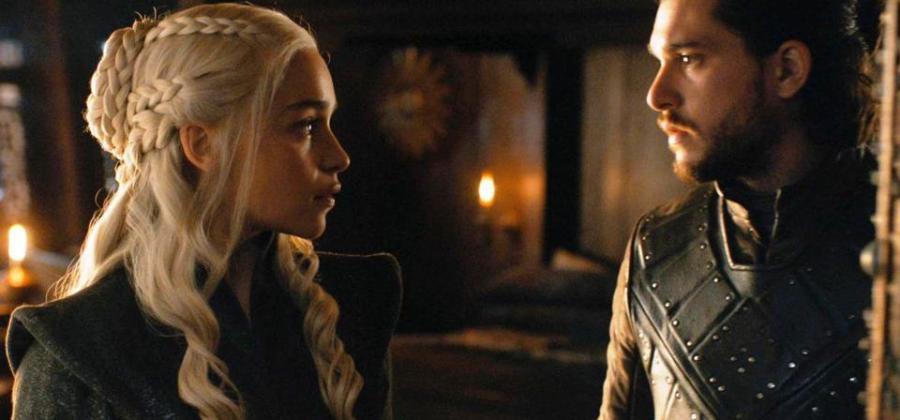 Resultado de imagem para Daenerys e Jon Snow
