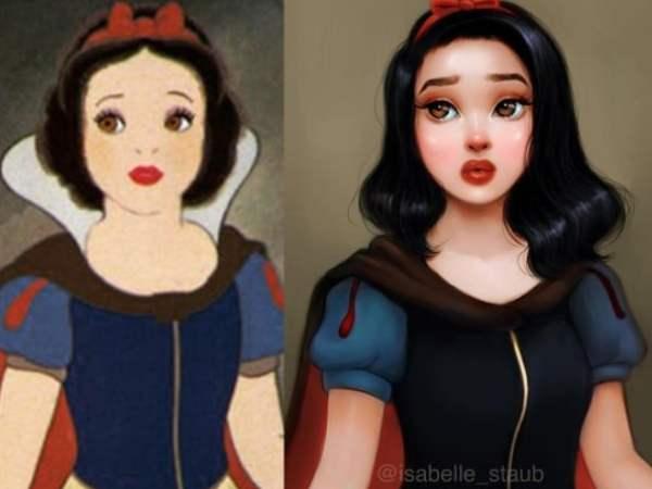 Artista Transforma 10 Desenhos De Princesas Da Disney Em