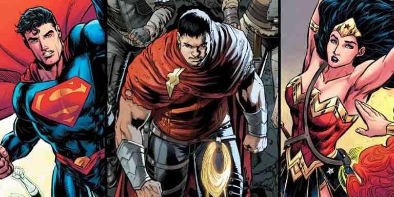 Revelado o mistério de Hunter, filho de Mulher Maravinha e Superman